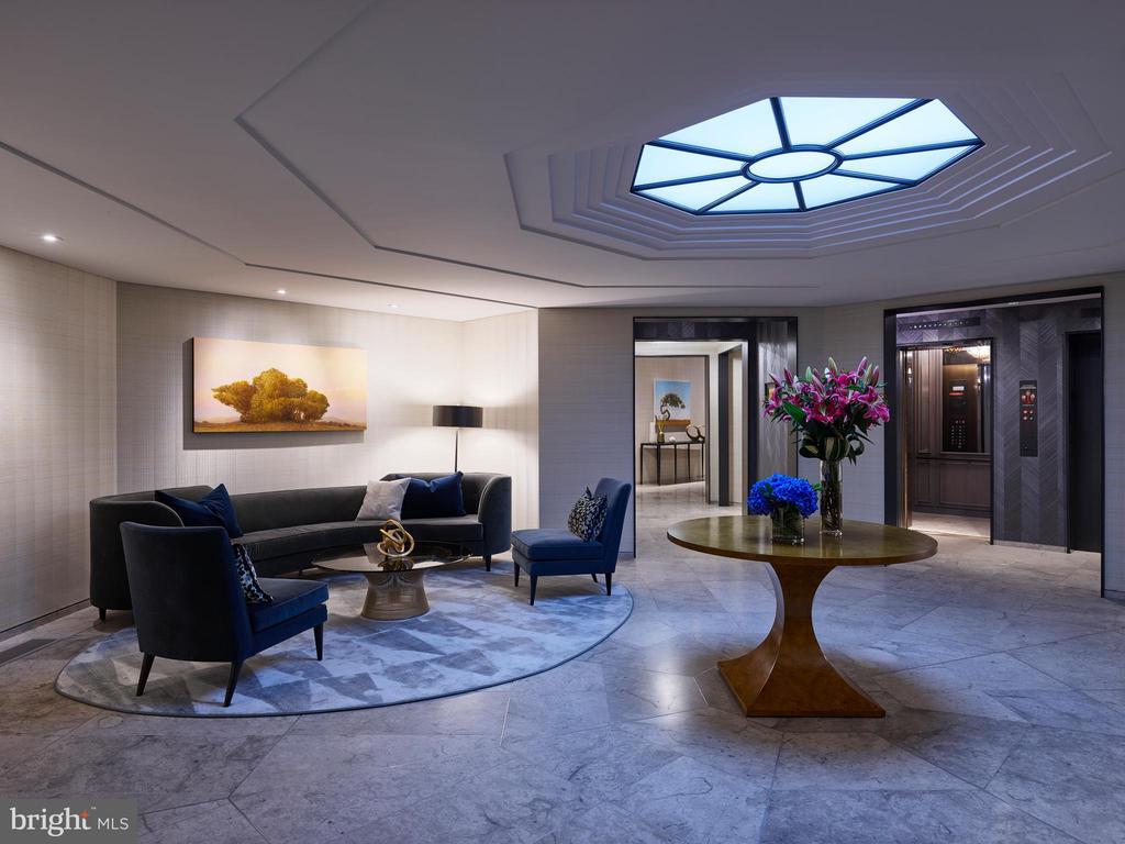 Elegant Lobby - 2660 CONNECTICUT AVE NW #6C, WASHINGTON