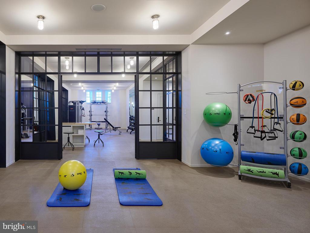 Separate Yoga Room - 2660 CONNECTICUT AVE NW #6C, WASHINGTON