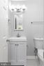 Half Bath - 201 N FIR CT, STERLING