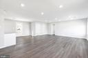 Unstaged family room/dining room - 201 N FIR CT, STERLING