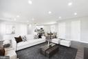 Virtually Staged Family room/dining room - 201 N FIR CT, STERLING