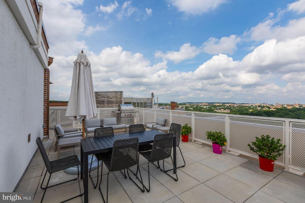 Common Roof Top Area - 2660 CONNECTICUT AVE NW #6C, WASHINGTON