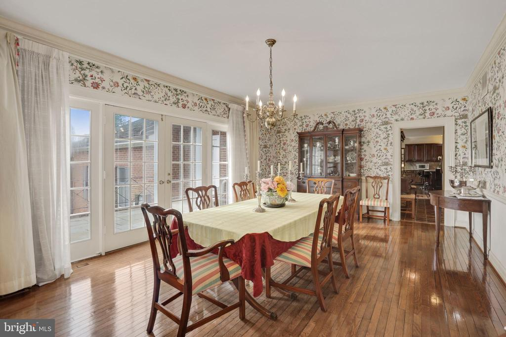 Dining Room - 9621 GEORGETOWN PIKE, GREAT FALLS