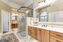 Owner's Suite Bath - 24018 BURNT HILL RD, CLARKSBURG