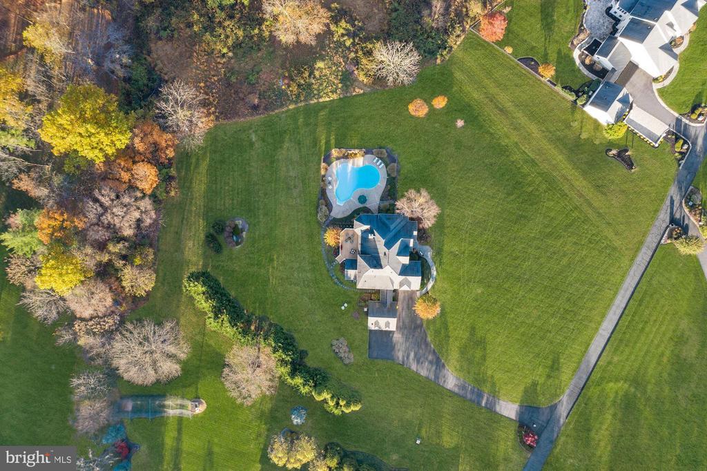 Aerial View - 24018 BURNT HILL RD, CLARKSBURG