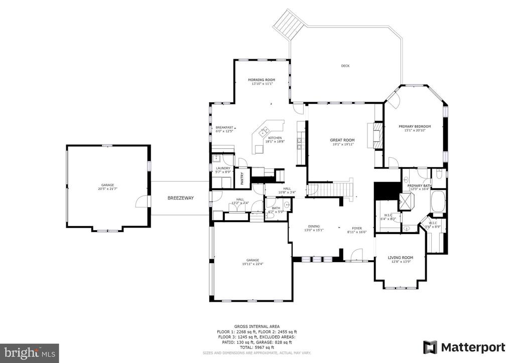 Floor Plan - 24018 BURNT HILL RD, CLARKSBURG