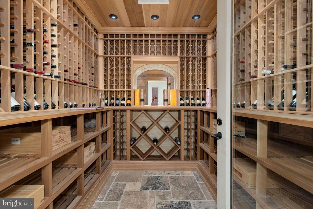 Custom Wine Cellar - 6622 MALTA LN, MCLEAN