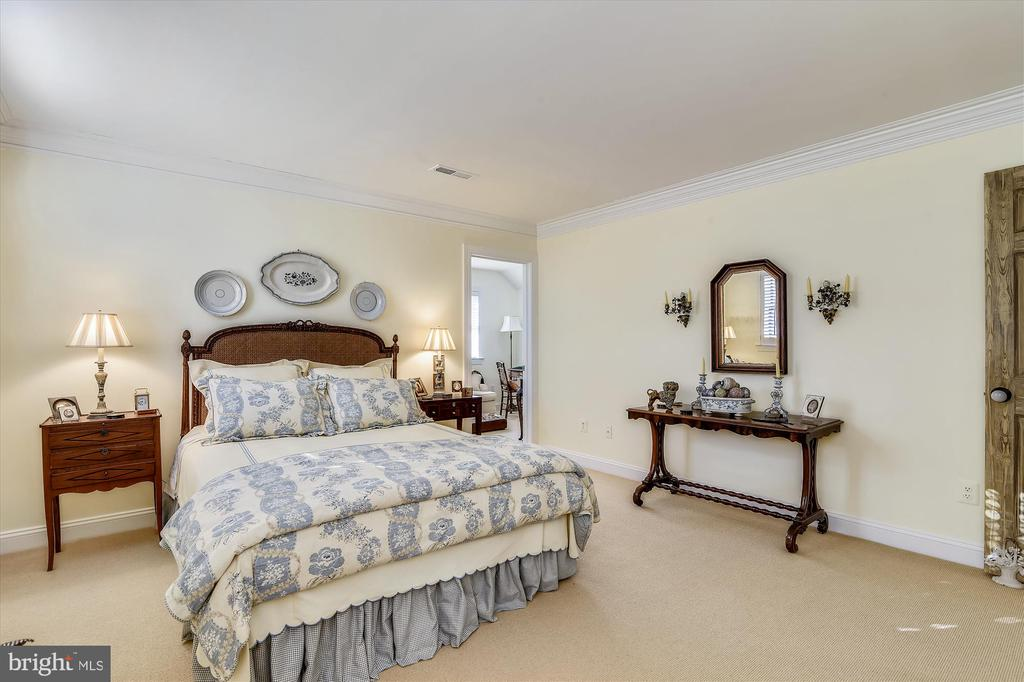 Guest house bedromm - 22956 CARTERS FARM LN, MIDDLEBURG