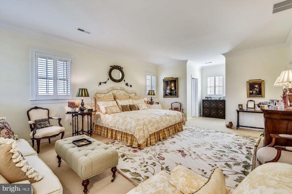 Guest house primary bedroom - 22956 CARTERS FARM LN, MIDDLEBURG