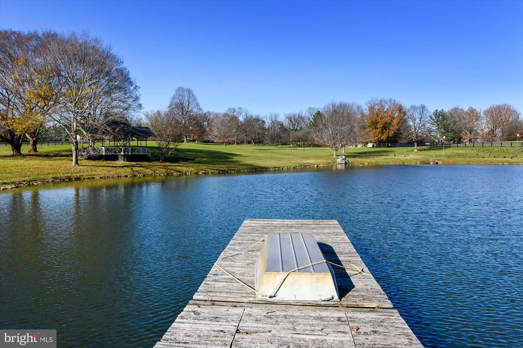 pond - 22956 CARTERS FARM LN, MIDDLEBURG