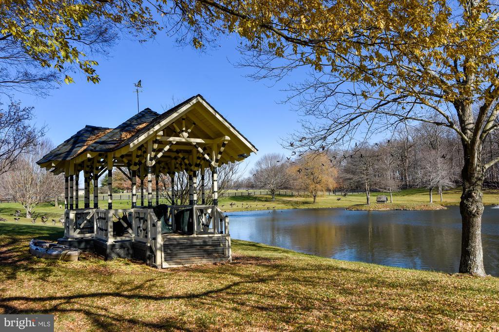 gazebo - 22956 CARTERS FARM LN, MIDDLEBURG