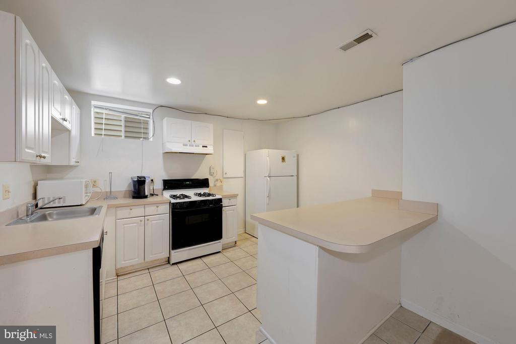 Second kitchen in basement - 12529 STRATFORD GARDEN DR, SILVER SPRING