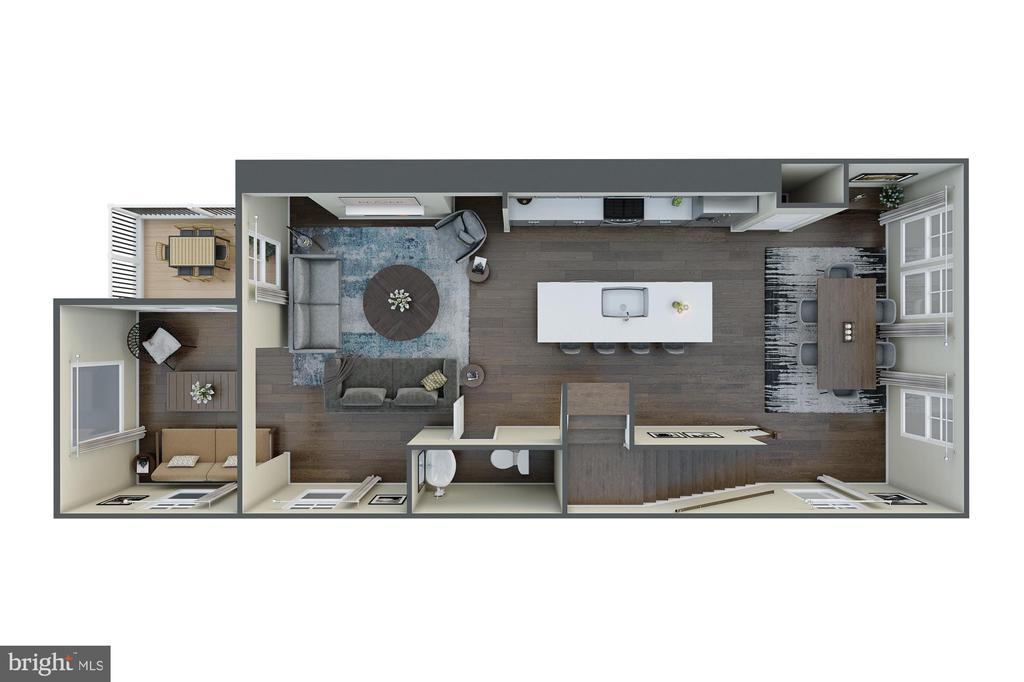 Second Floor - 123 BARNWELL DR, STAFFORD