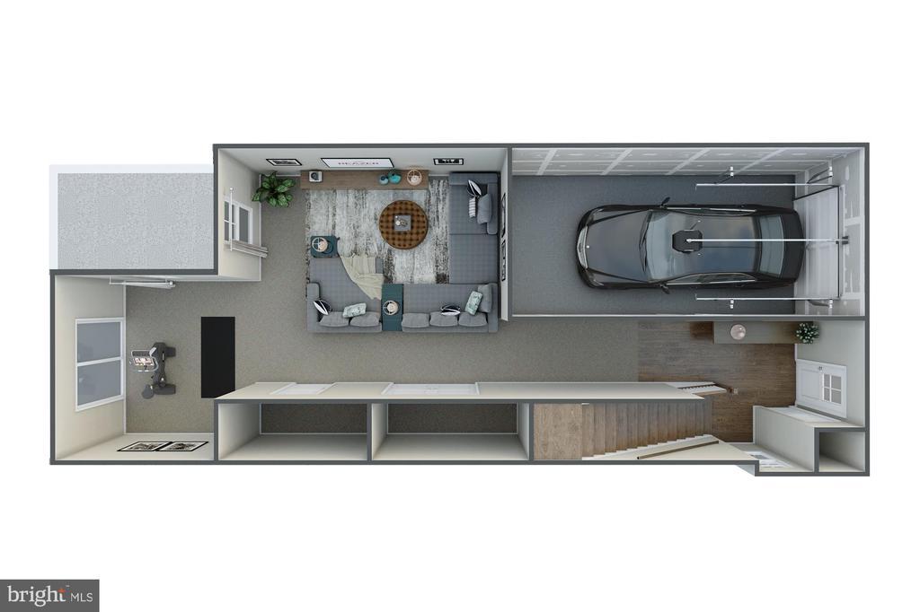 First Floor - 123 BARNWELL DR, STAFFORD