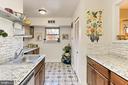 Great working space in the kitchen - 403 N BEAUREGARD ST #304, ALEXANDRIA