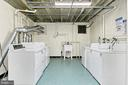 Laundry in the building - machines 2018 - 403 N BEAUREGARD ST #304, ALEXANDRIA