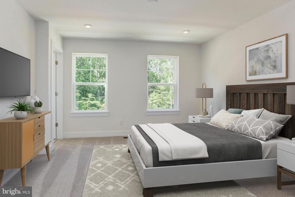 Primary Bedroom - 17700 LONGSPUR COVE LN, DUMFRIES