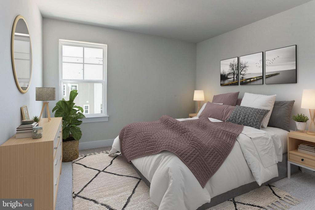 Bedroom - 17700 LONGSPUR COVE LN, DUMFRIES