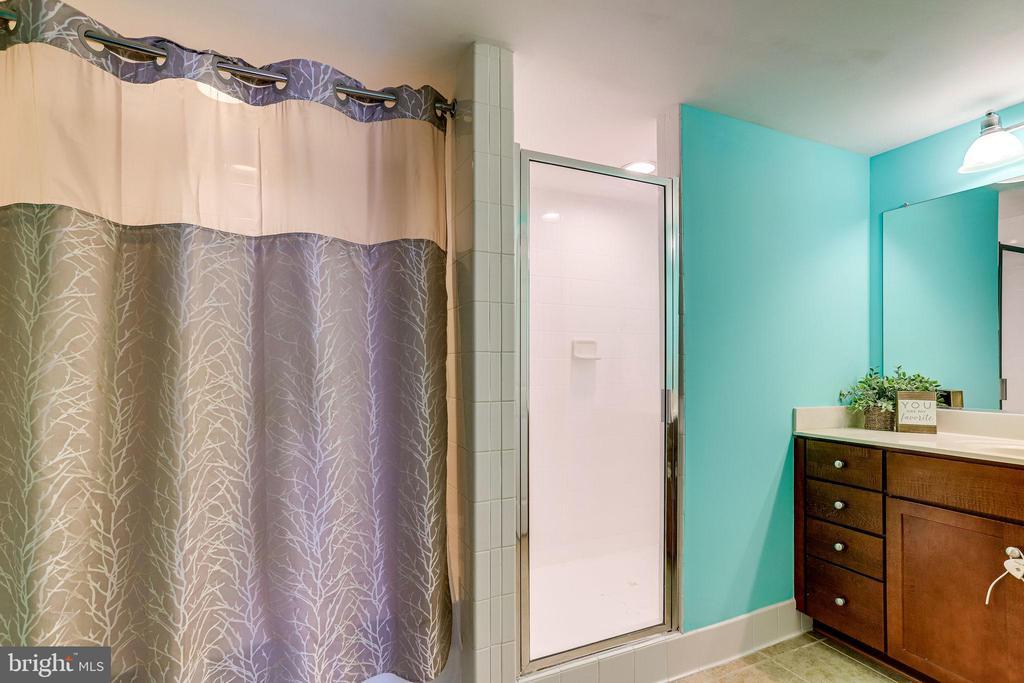 Primary Bathroom - 4133 S FOUR MILE RUN DR #D, ARLINGTON