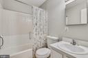 Updated hall bathroom - 333 RENEAU WAY, HERNDON