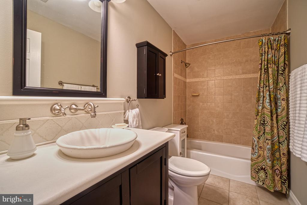 Upper Level Hall Bath - 18914 SHELBURNE GLEBE RD, LEESBURG