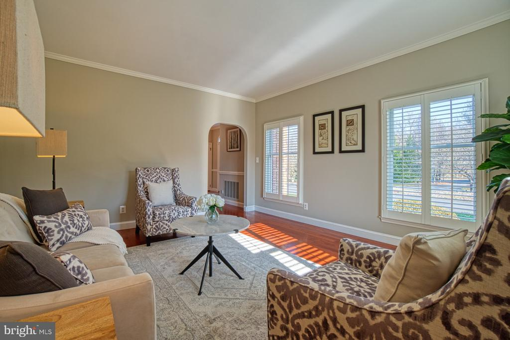 Formal Sitting Room - 18914 SHELBURNE GLEBE RD, LEESBURG