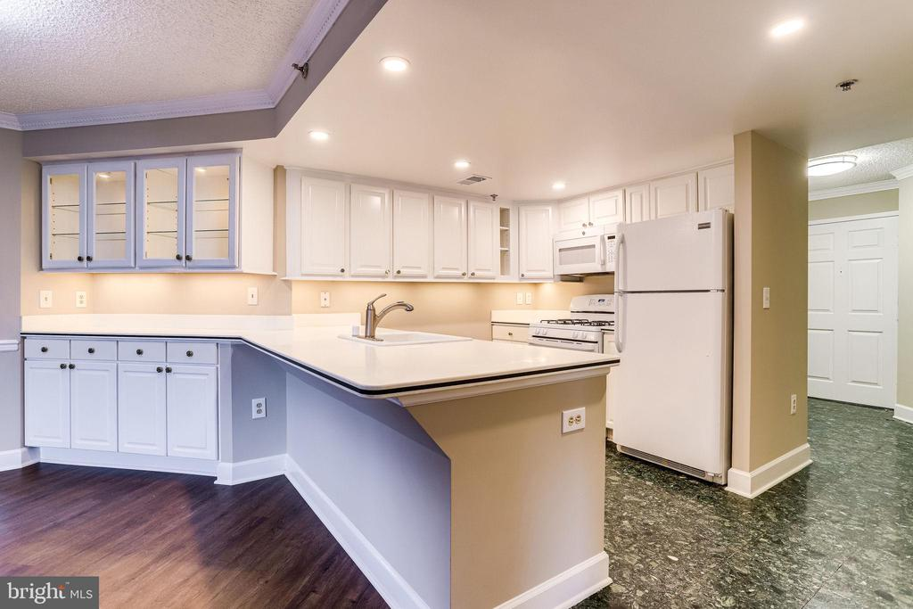 Kitchen with Dining Room Butler's Pantry - 1276 N WAYNE ST #320, ARLINGTON
