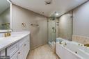 Remodeled Primary Bathroom - 1276 N WAYNE ST #320, ARLINGTON