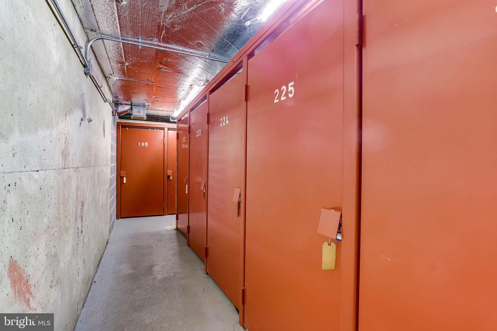 Separate Secure Storage Locker - 1276 N WAYNE ST #320, ARLINGTON