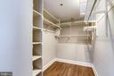 Primary Bedroom Walk-in Closet - 1276 N WAYNE ST #320, ARLINGTON