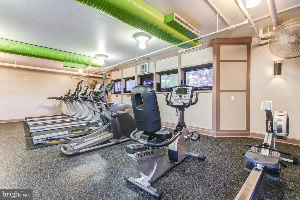Gym/overview 2 - 1021 N GARFIELD ST #828, ARLINGTON