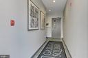 Hallway - 1700 CLARENDON BLVD #158, ARLINGTON