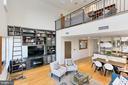 Open concept living area - 1700 CLARENDON BLVD #158, ARLINGTON