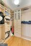 Owner's closet - 1700 CLARENDON BLVD #158, ARLINGTON