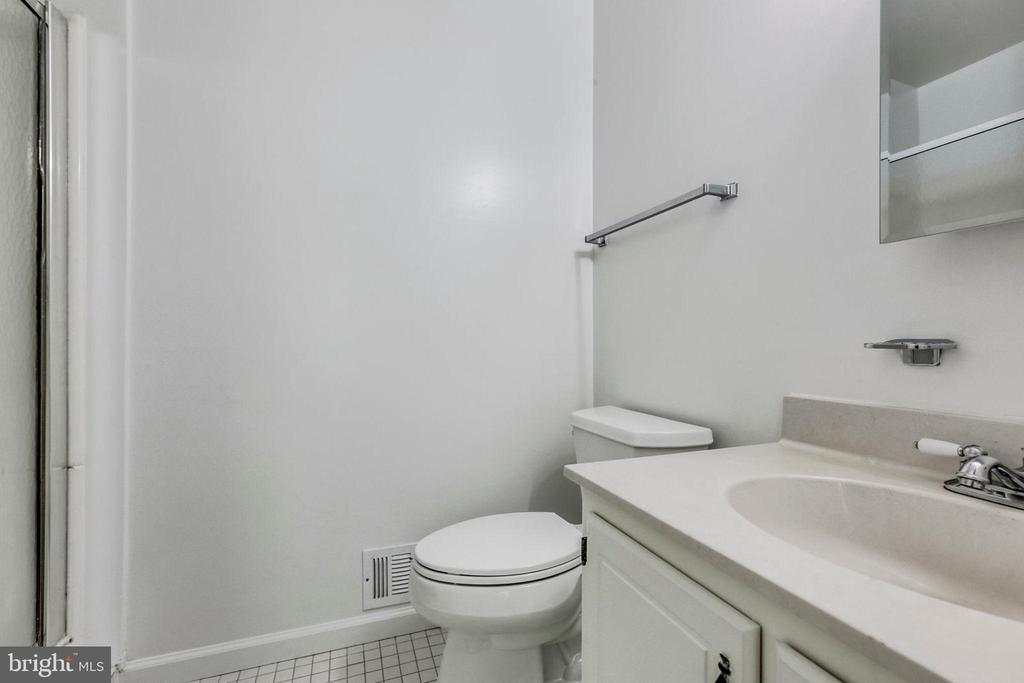 Primary Bath off of the Bedroom - 1185 N VERNON ST, ARLINGTON