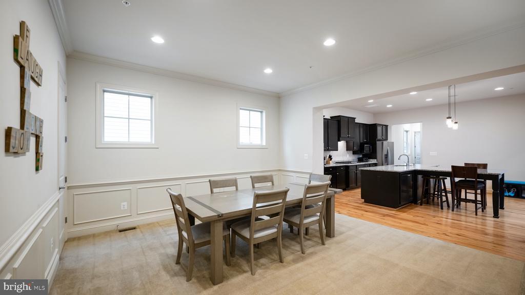 Formal Dining room - 13805 TRIBUTE PKWY, CLARKSBURG