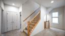 Stairs to Top level loft - 13805 TRIBUTE PKWY, CLARKSBURG