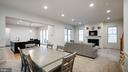 Dining/Family room combo - 13805 TRIBUTE PKWY, CLARKSBURG