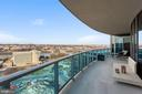 Private Terrace with Sweeping Views - 1881 N NASH ST #1612, ARLINGTON