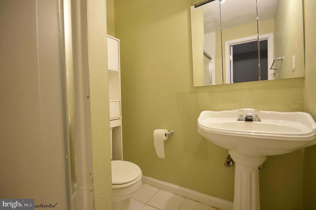 basement Full bath with Shower - 1118 SUGAR MAPLE LN, HERNDON