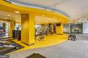 Building Amenities - Fitness Center - 3650 S GLEBE RD #464, ARLINGTON