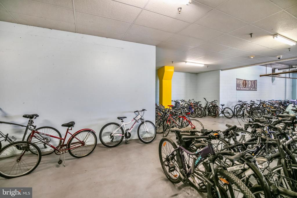 Building Amenities - Bike Storage - 3650 S GLEBE RD #464, ARLINGTON