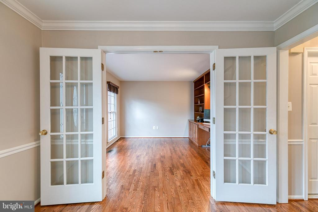 Study with french doors - 49 CHRISTOPHER WAY, STAFFORD