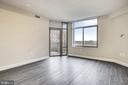 Access to Balcony from Living Room - 3650 S GLEBE RD #464, ARLINGTON