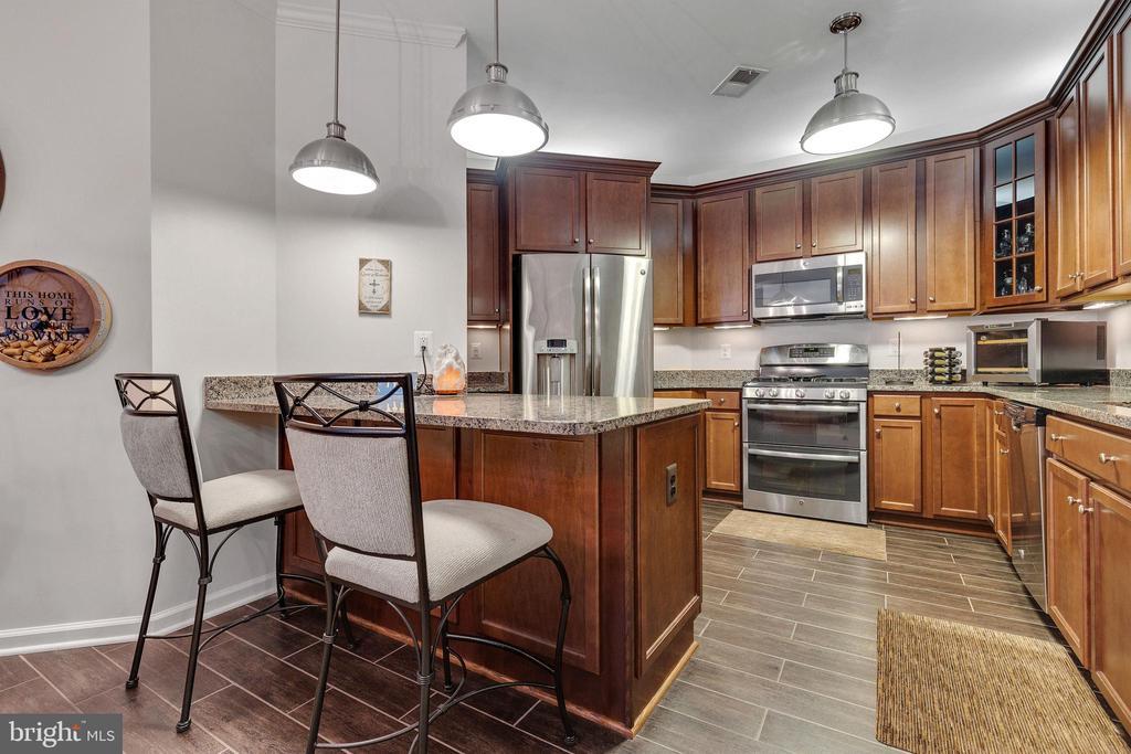 Open Kitchen with Peninsula to Entertain - 43144 SUNDERLAND TER #300, ASHBURN