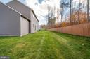 Woodsy out back, but private space as well - 6541 RUNNING CEDAR LN, MANASSAS