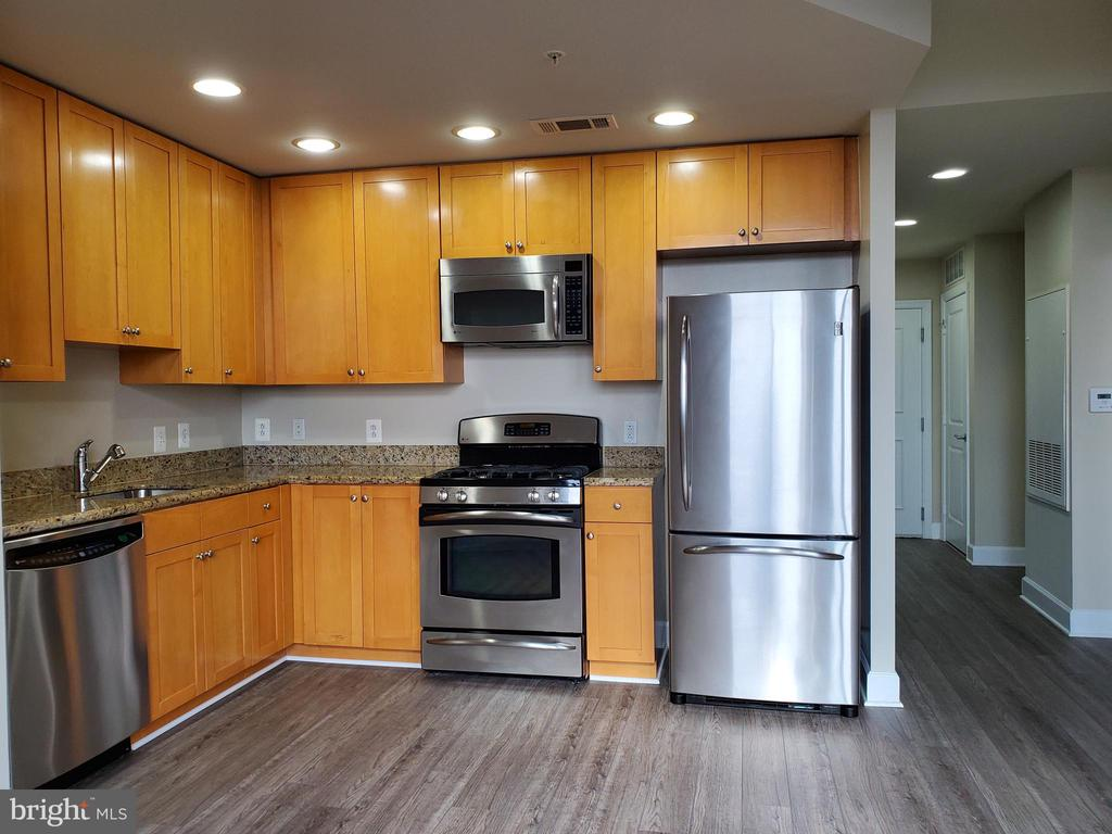 Gas cooking, maple cabinets - 3650 S GLEBE RD #464, ARLINGTON
