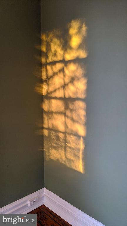 corner of master BR sunset reflection - 4343 39TH ST NW, WASHINGTON