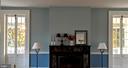 Sunset coming in original handblown windows - 4343 39TH ST NW, WASHINGTON