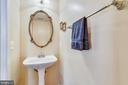 Main level powder room - 47642 MID SURREY SQ, STERLING